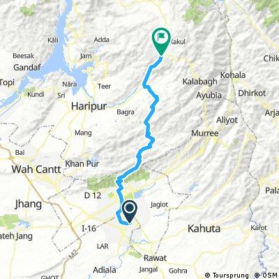 R: Rawalpindi - Abbottabad