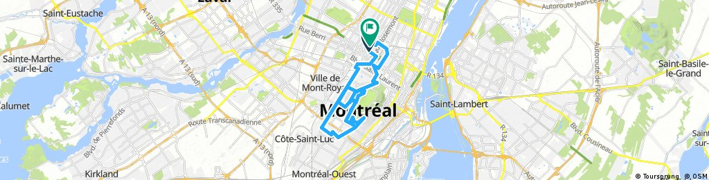 Lengthy bike tour from July 18, 17:16