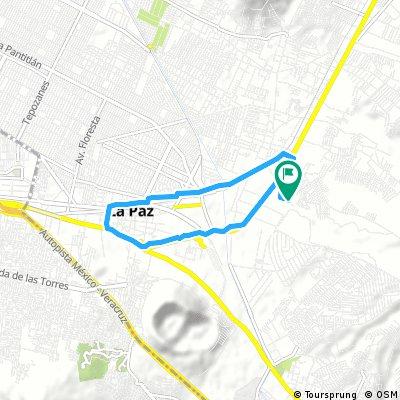 Brief bike tour through Los Reyes Acaquilpan