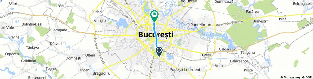 Brief ride through Bucharest