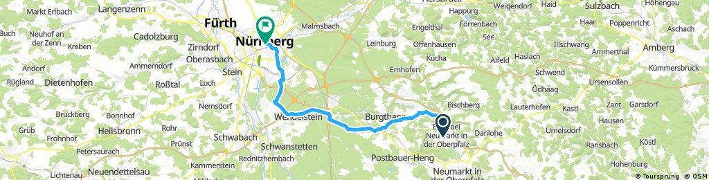 2. Etappe - Berg/NM-NBG