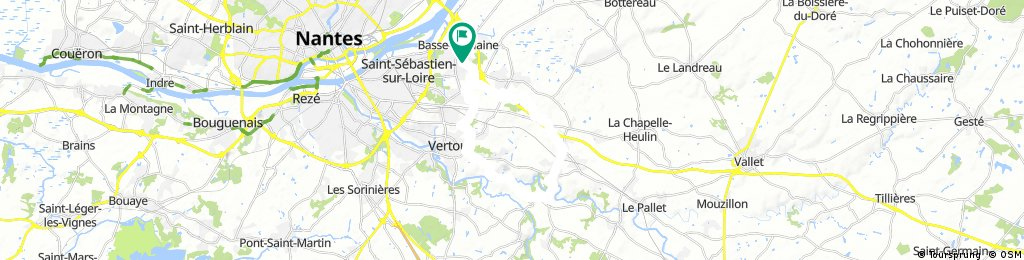 Circuit La Haie Fouaissierre St Fiacre Vertou