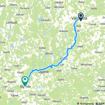Valmiera - Cēsis - Līgatne - Sigulda