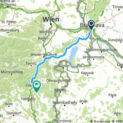 Bratislava - PinkaFeld (Day 1)
