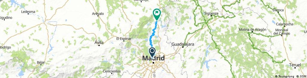 Etapa 1 - Madrid - Vitoria (Pobes)