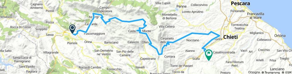 2a tappa L' Aquila - Manoppello
