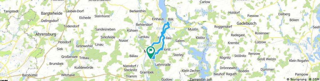 Mölln - Ratzeburg - Mölln _34Km