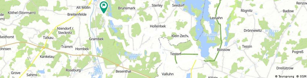 Mölln - Zarrentin - Mölln