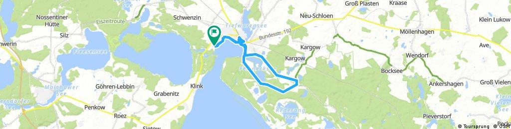 Fahrradtour bei Waren (Müritz) 1