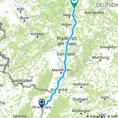 Route A