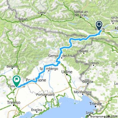 Giro Alpe Adria Italiana - Casa