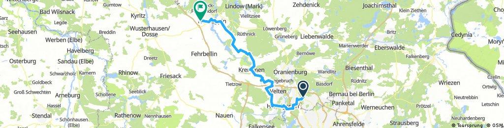 Radtour Hohen Neuendorf nach Neuruppin