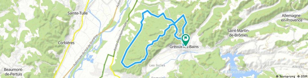 Draye des troupeaux - Gréoux les Bains