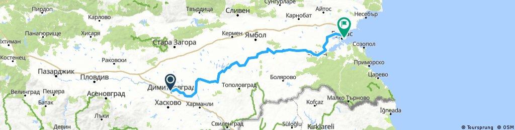 Dimitrovgrad - Burgas