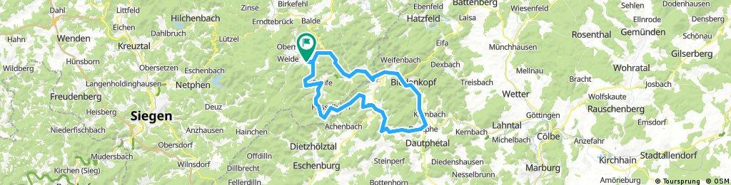 Auf neuen Schleichwegen in Wittgenstein und im Hinterland