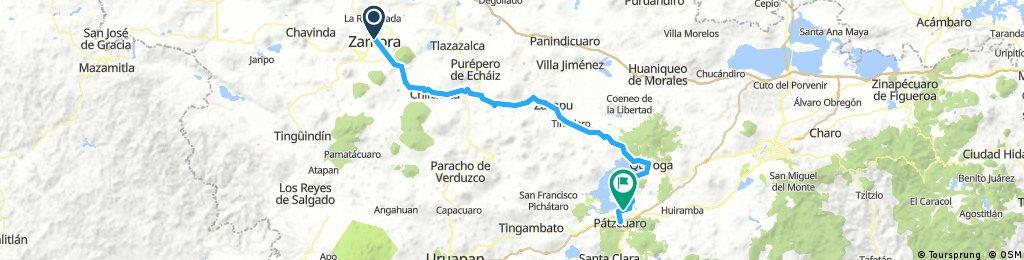 Zamora - Pátzcuaro (Por Zacapu)