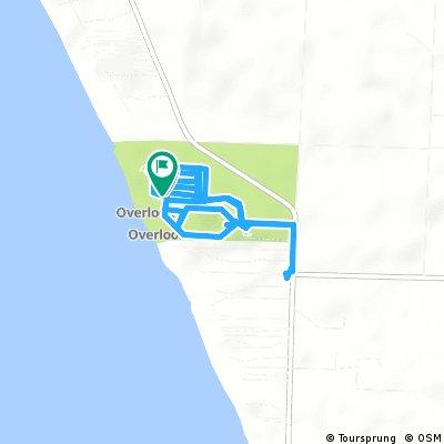 Quick ride through Laketon