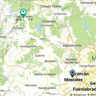 Mostoles - El Escorial