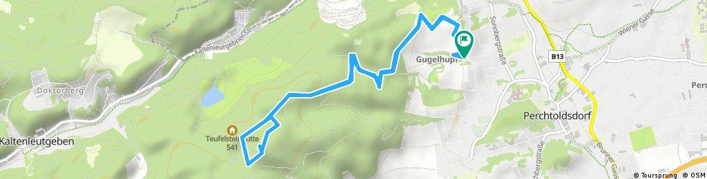 Schnelle Radrunde durch Perchtoldsdorf