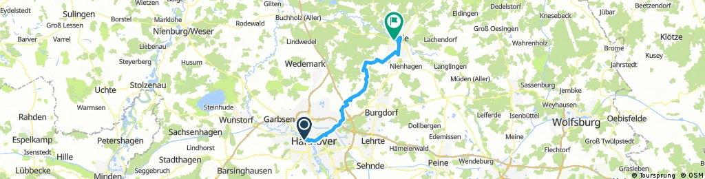 R10 Hannover - Celle