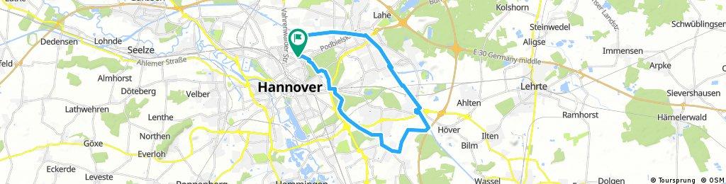 List - Kanal - Anderten - Kronsberg - Bischofshol - List