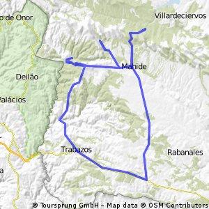 Boya-Alcañices-Trabazos-Moldones-Villarino Manzanas-Figueruela-Flechas-Mahide-Boya