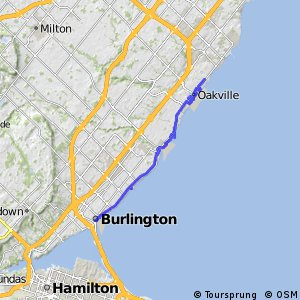 Cycling Routes And Bike Maps In And Around Burlington Bikemap - Burlington map