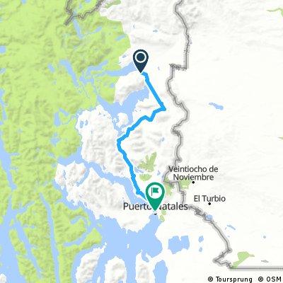 Jour 17 - 18 (vélo) - Torres del Paine - Puerto Natales