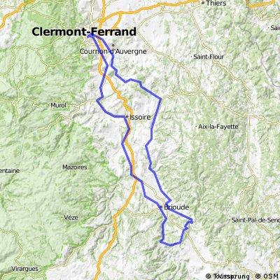 AUVERGNE - BRM 200 Clermont Ferrand