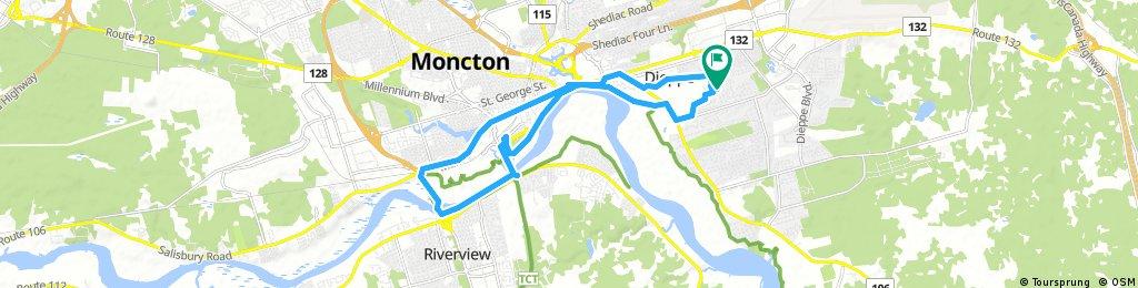 Bike Tour Greater Moncton