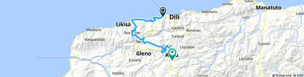 Tour de Timor 2017 Stage 1