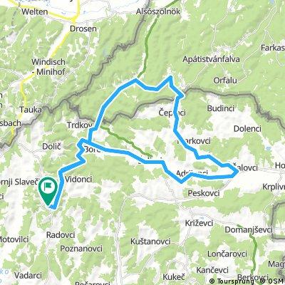 Tour de RŐG 2017, Green Exercise, 50 km