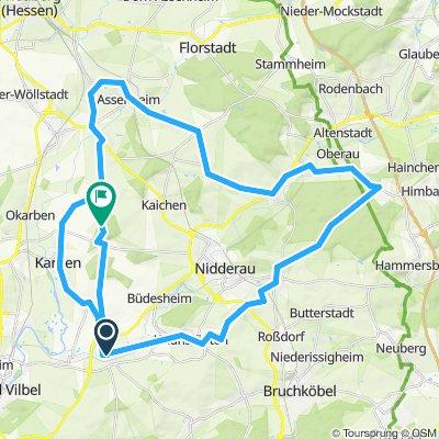Herbsttour 46km Niederdorfelden