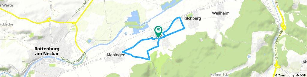 Kurze Radrunde durch Tübingen