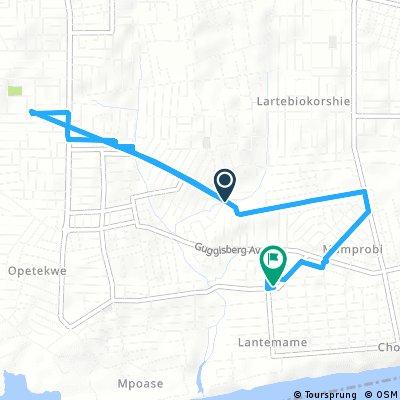 Quick bike tour through Accra