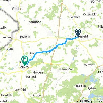 Radrunde von Coesfeld nach Borken