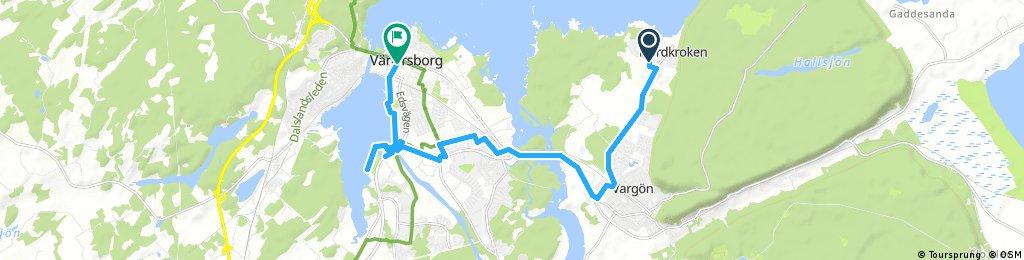 ride through Vänersborg