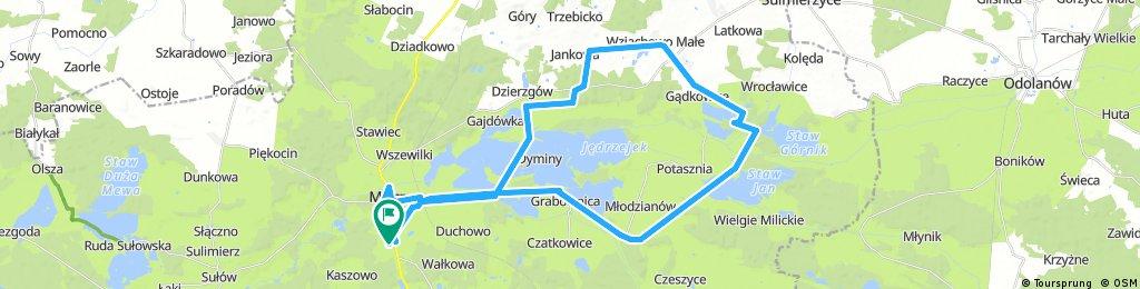 Brief ride through Milicz