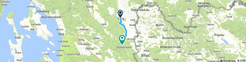 Escape day 6: Slunj - Plitvice Lakes National Park