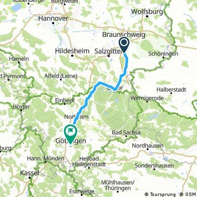 Dolna Saksonia rowerem - odcinek IV