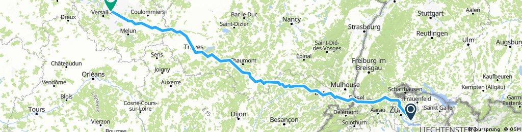 Grüningen - Paris