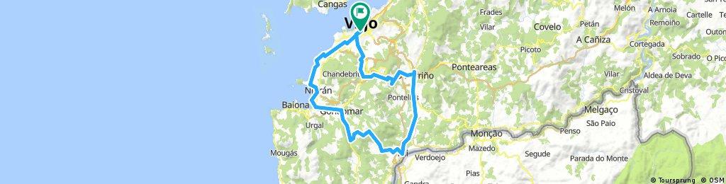 Vigo-Nigran-Ramallosa-Tui-Porriño-Vigo
