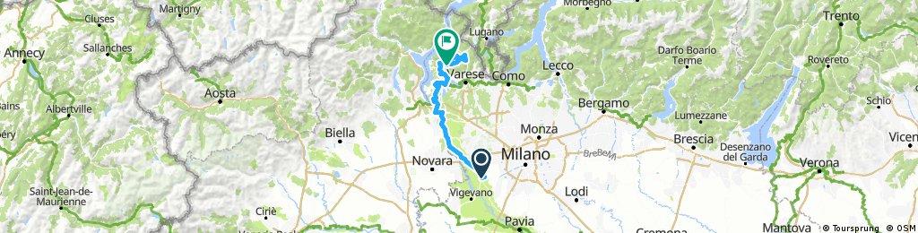 Long ride through Orino