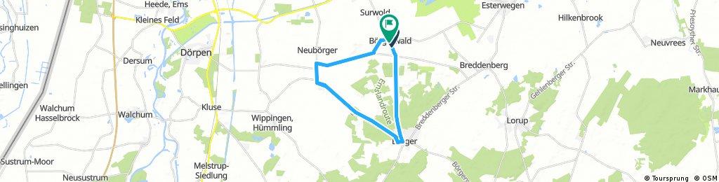 Surwold-Börgerwald Rundweg