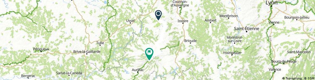 Étape 3: Mont Dore - Mandailles