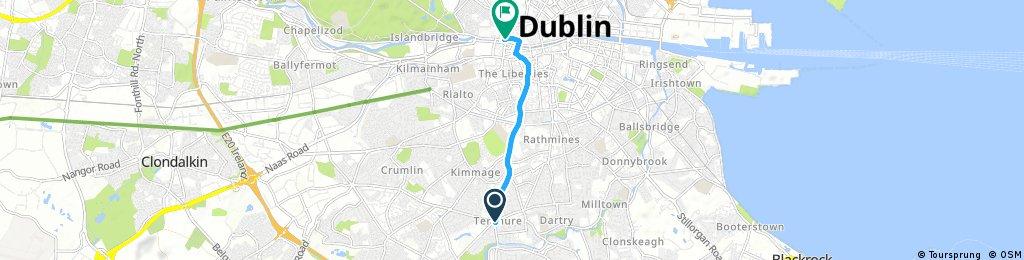 Quick bike tour through Dublin