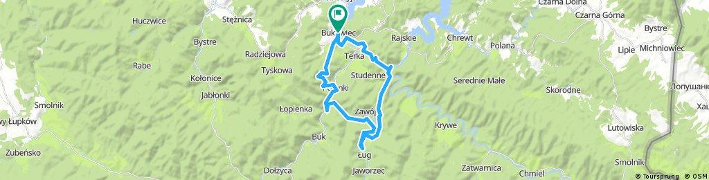 Bukowiec-Polanki-Bukowiec