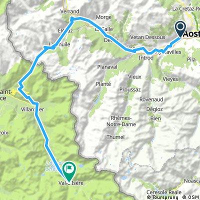 CtA2013 Tag 2: Aosta - Val d'Isère