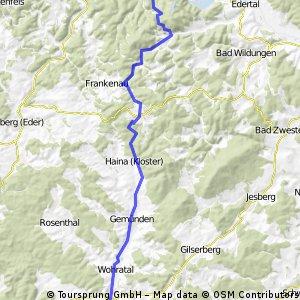 Rauschenberg - Edersee