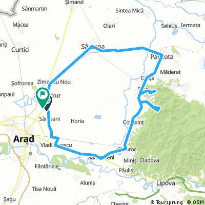 Circuit Arad - Cetate Siria